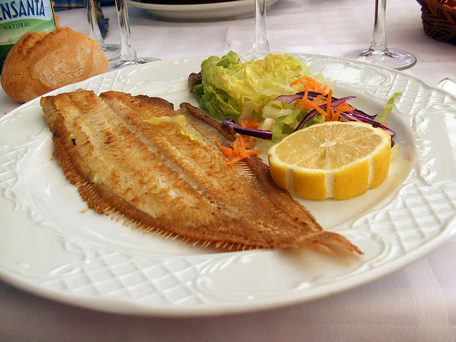 grilled sole solee